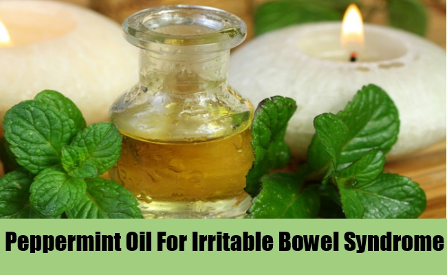 Peppermint Oil For Irritable Bowel Syndrome
