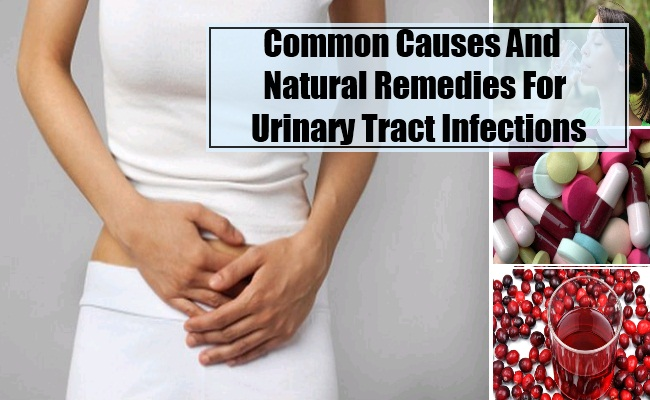Common Causes And Natural Remedies For UTI