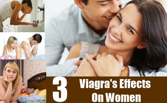 3 Viagra's Effects On Women