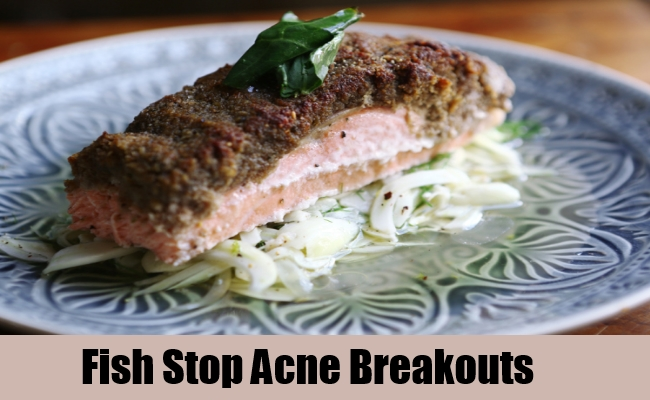 Fish Stop Acne Breakouts