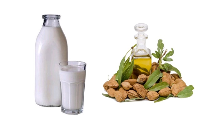 Milk And Almond Oil