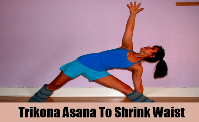 Trikona Asana To Shrink Waist