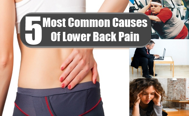 5 Most Common Causes Of Lower Back Pain