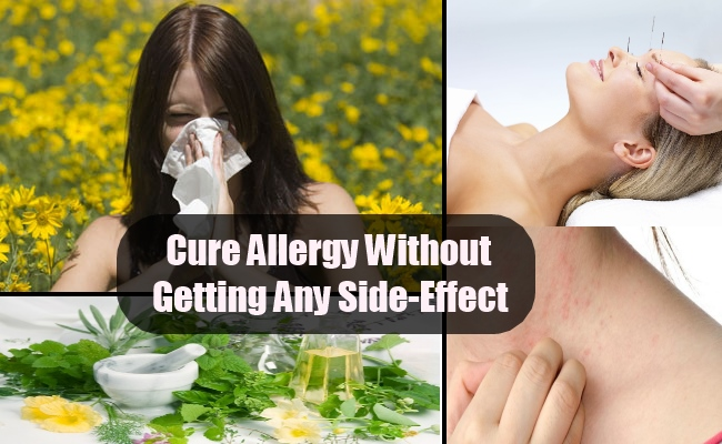 Cure Allergy Without Getting Any Side-Effect