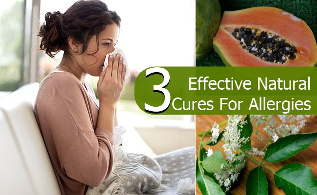 Effective Natural Cures For Allergies