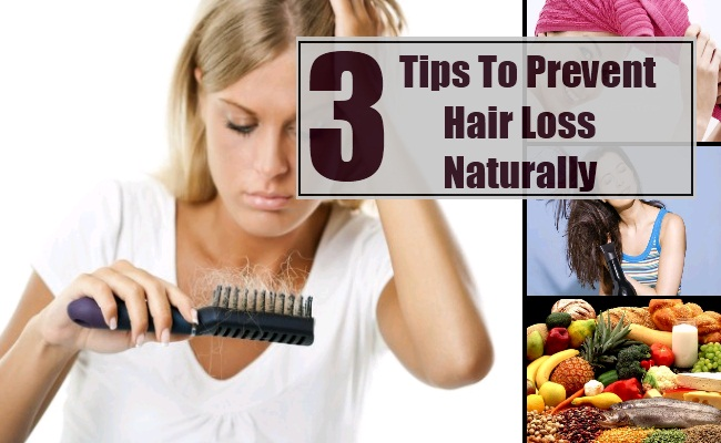 Tips To Prevent Hair Loss Naturally