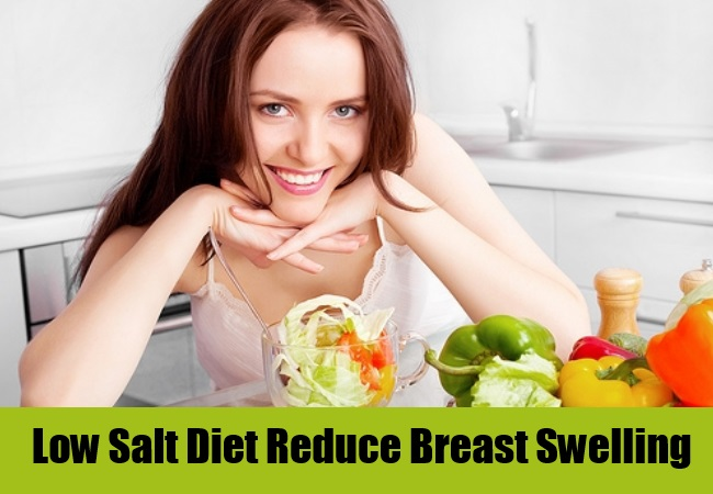 Low Salt Diet Reduce Breast Swelling