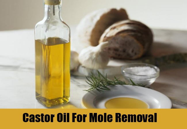 Castor Oil For Mole Removal