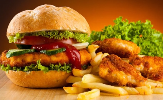 Eliminate Junk And Fried Food