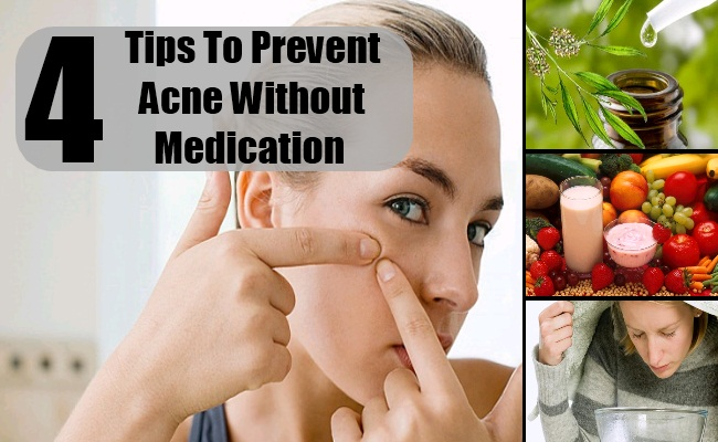 Prevent Acne Without Medication