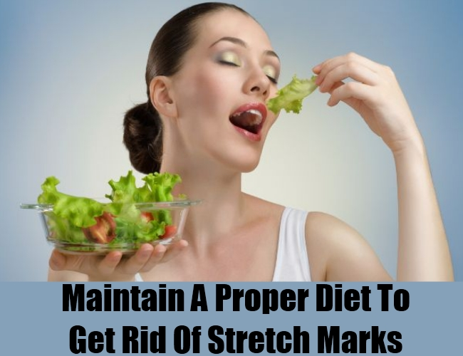 Maintain A Proper Diet