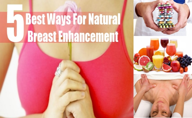 natural ways to increase your breast size