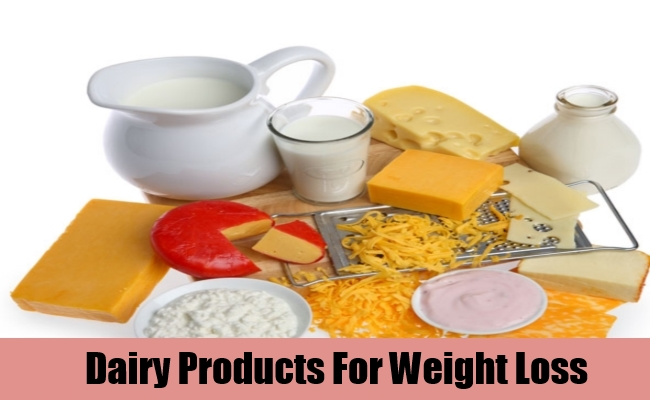 Dairy Products For Weight Loss
