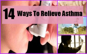Ways To Relieve Asthma
