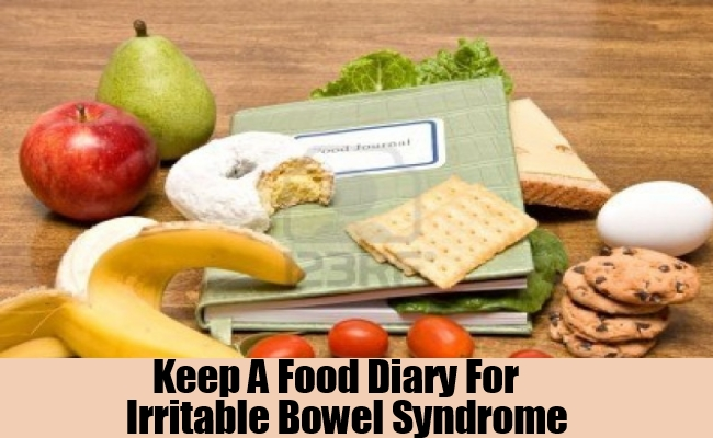Keep A Food Diary For Irritable Bowel Syndrome
