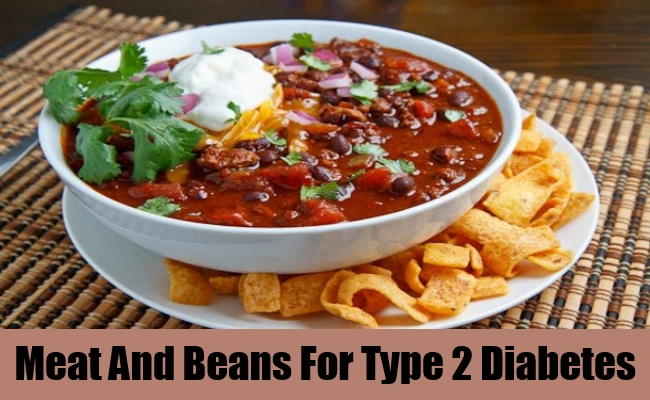 Meat And Beans For Type 2 Diabetes