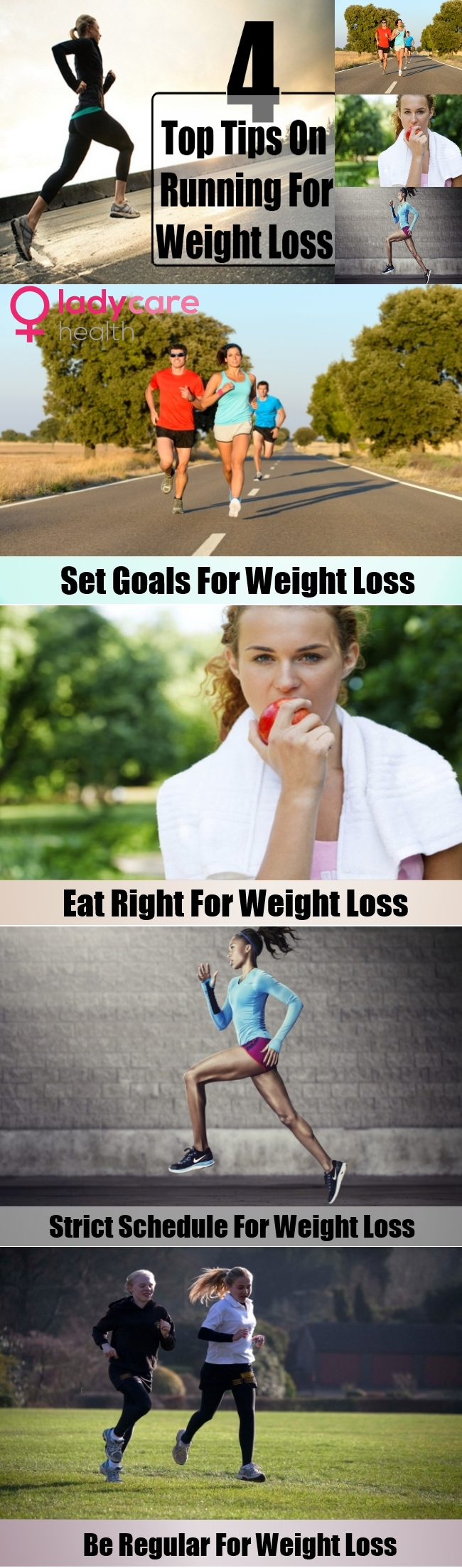 4 Top Tips On Running For Weight Loss