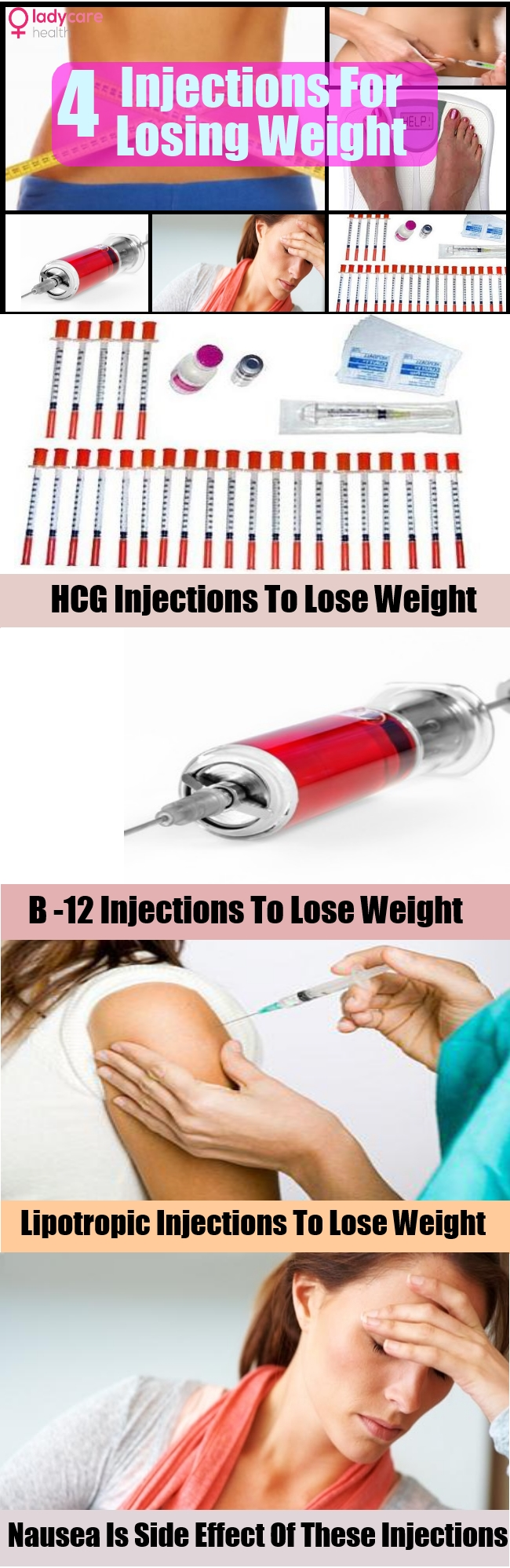Different Kinds Of Injections For Losing Weight