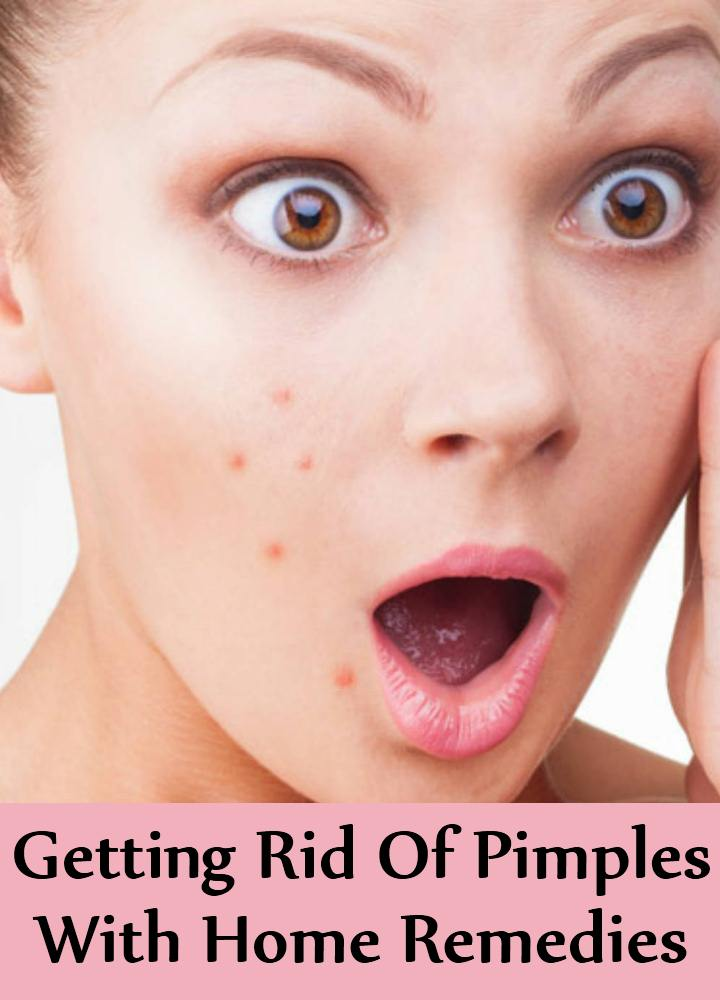 Getting Rid Of Pimples With Home Remedies
