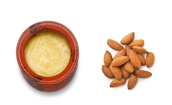 Ghee And Almonds