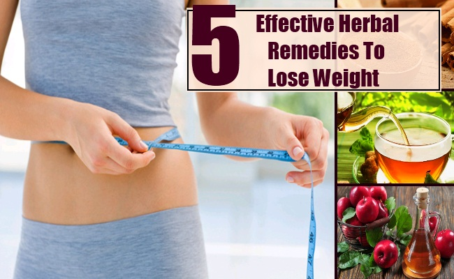 Herbal Remedies To Lose Weight