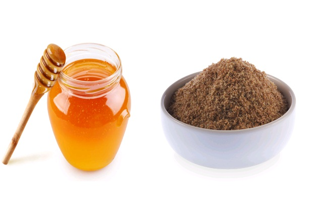 Honey And Flax Seed Mixture