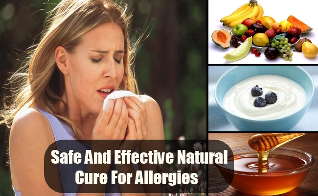 Safe And Effective Natural Cure For Allergies