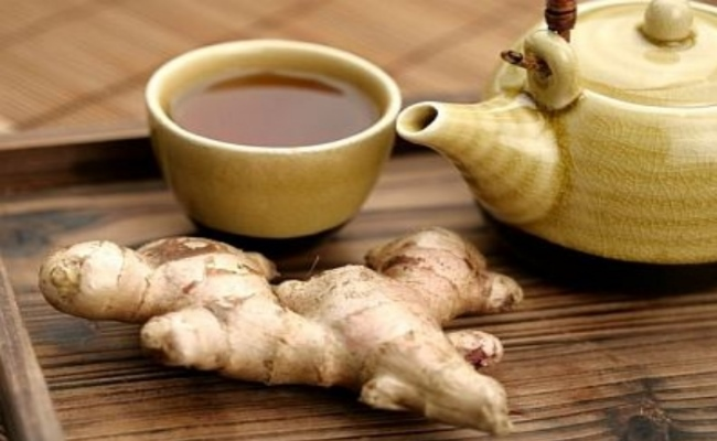 Sip Warm Ginger Tea
