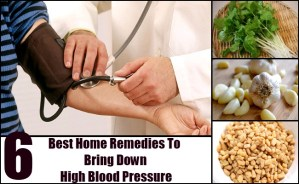 Natural Remedies To Bring Down Your Blood Pressure
