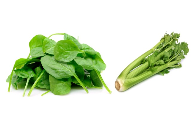 Spinach And Celery