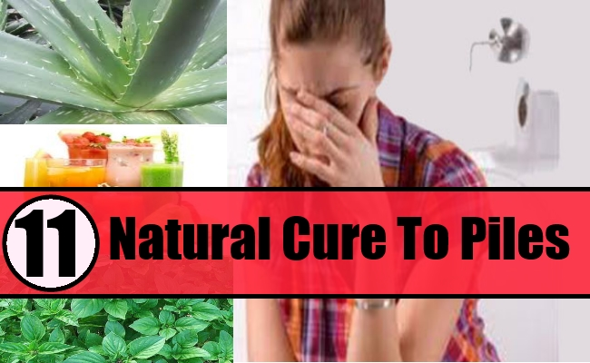 Natural Cures For Piles