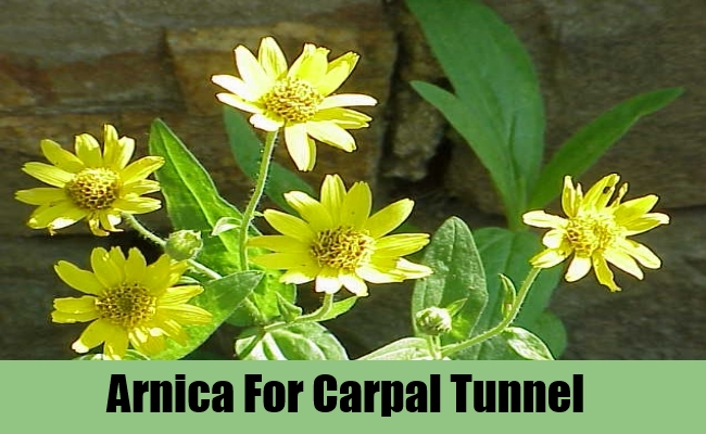Arnica For Carpal Tunnel