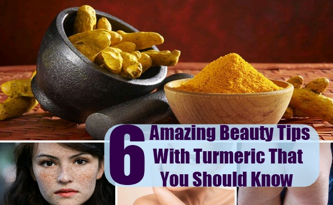Beauty Tips With Turmeric