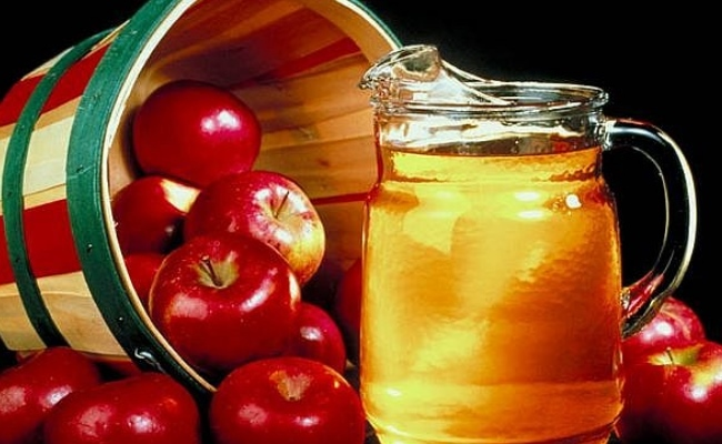 Mix Of Apple Cider Vinegar And Water