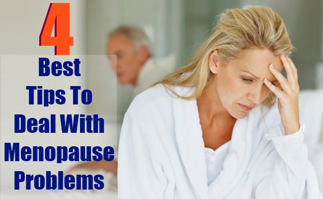 4 Best Tips To Deal With Menopause Problems