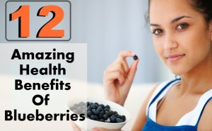 12 Amazing Health Benefits Of Blueberries