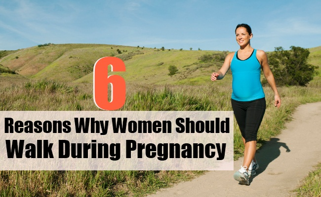 6 Reasons Why Women Should Walk During Pregnancy