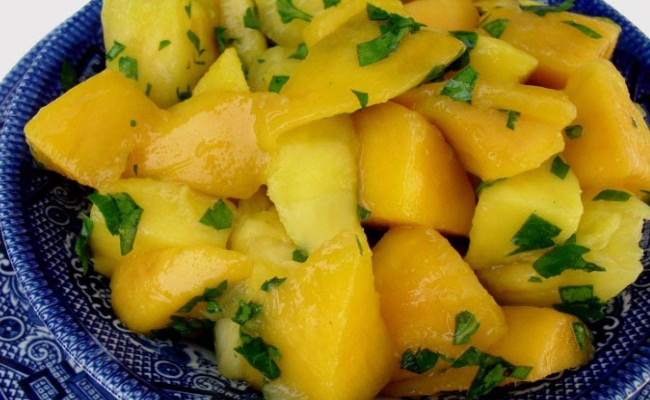Pineapple In Fruit Salads