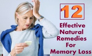 12 Effective Natural Remedies For Memory Loss