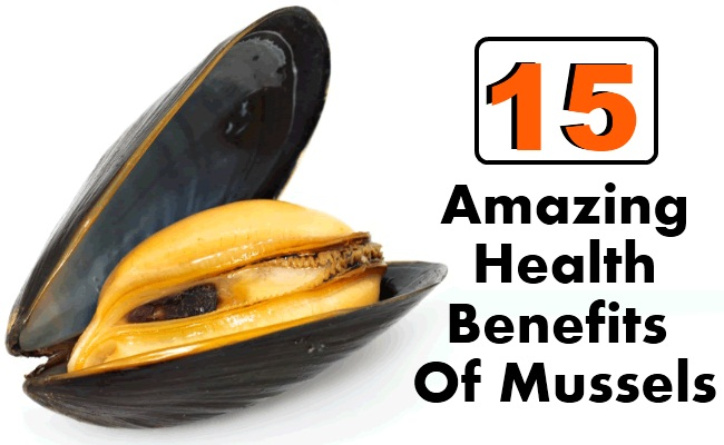 Amazing Health Benefits Of Mussels