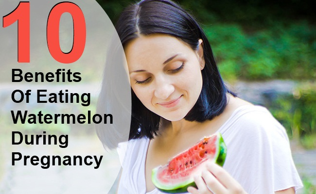 10 Top Benefits Of Eating Watermelon During Pregnancy
