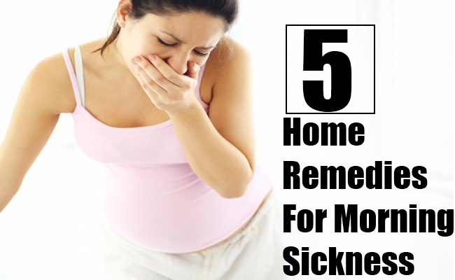 5 Effective Home Remedies for Morning Sickness