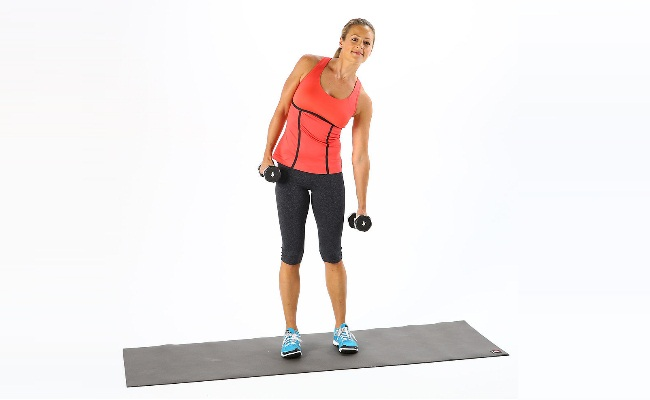 Standing Raises (4 SETS with 10 Reps each)
