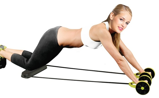 Abs Roller (4 SETS with 10 Reps each)