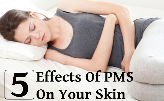 5 Effects of PMS On Your Skin
