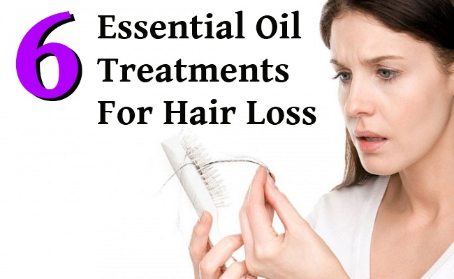 6 Essential Oil Treatments For Hair Loss