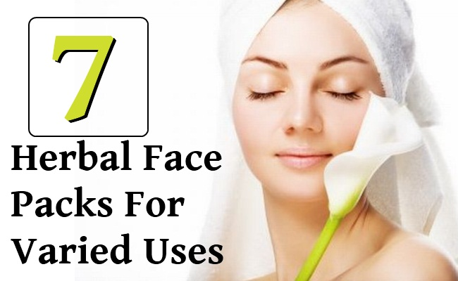 7 Top Miracle Herbal Face Packs For Varied Uses
