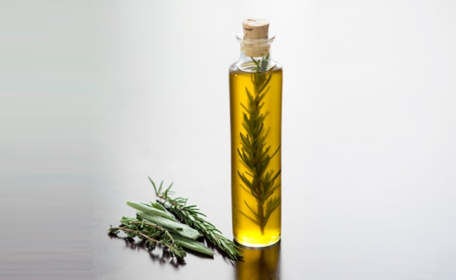 Olive oil and Rosemary oil