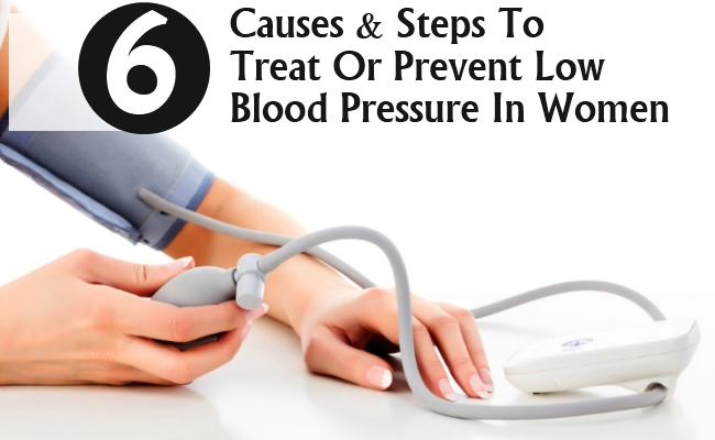 Low Blood Pressure In Women