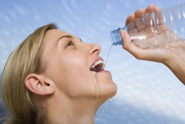 Drinking sufficient water
